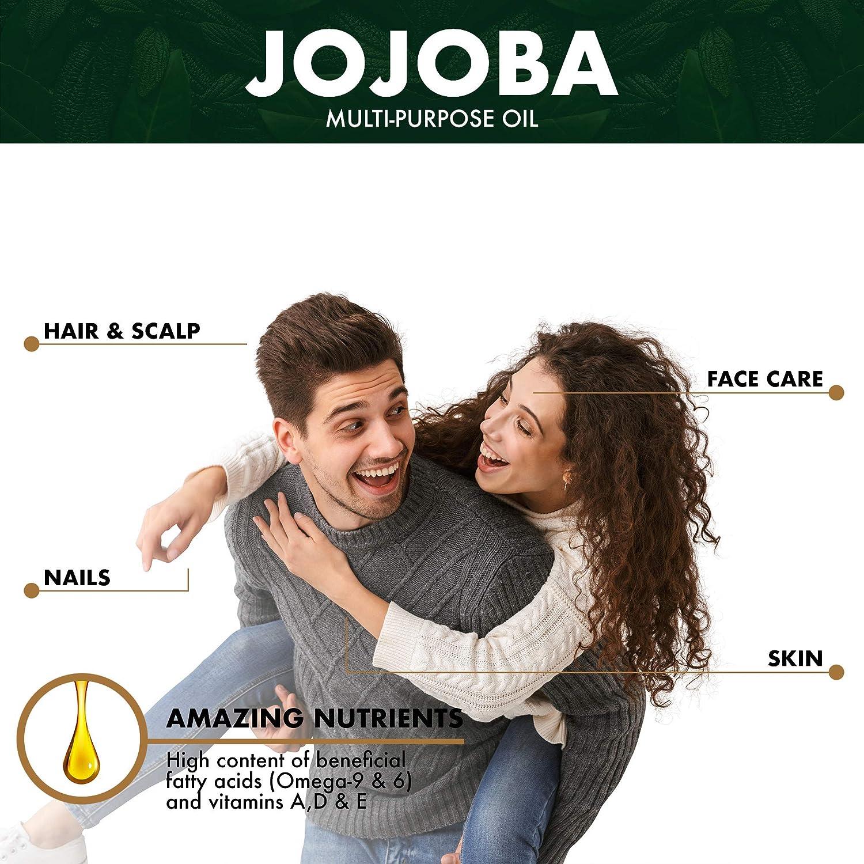 BIONOBLE ACEITE DE JOJOBA PURO 100% Orgánico y Prensado en Frío ...