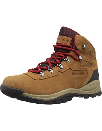 735ed0de Columbia Women's Newton Ridge Plus Waterproof Amped Boot, Ankle Support,  High-Traction Grip