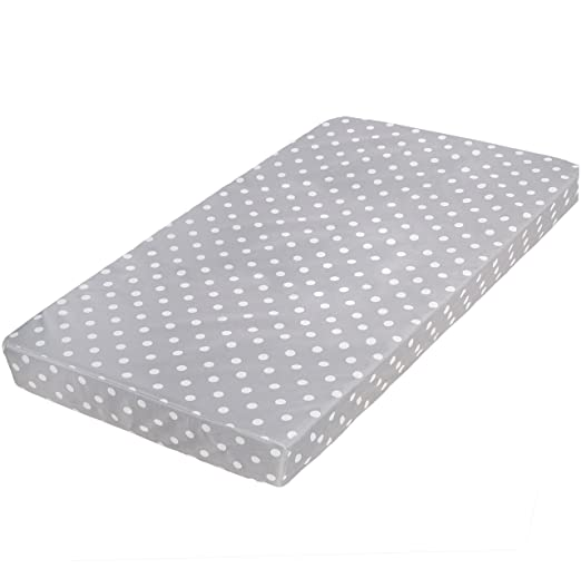 Milliard Crib Mattress and Toddler Bed Mattress | Hypoallergenic + Waterproof Encasement