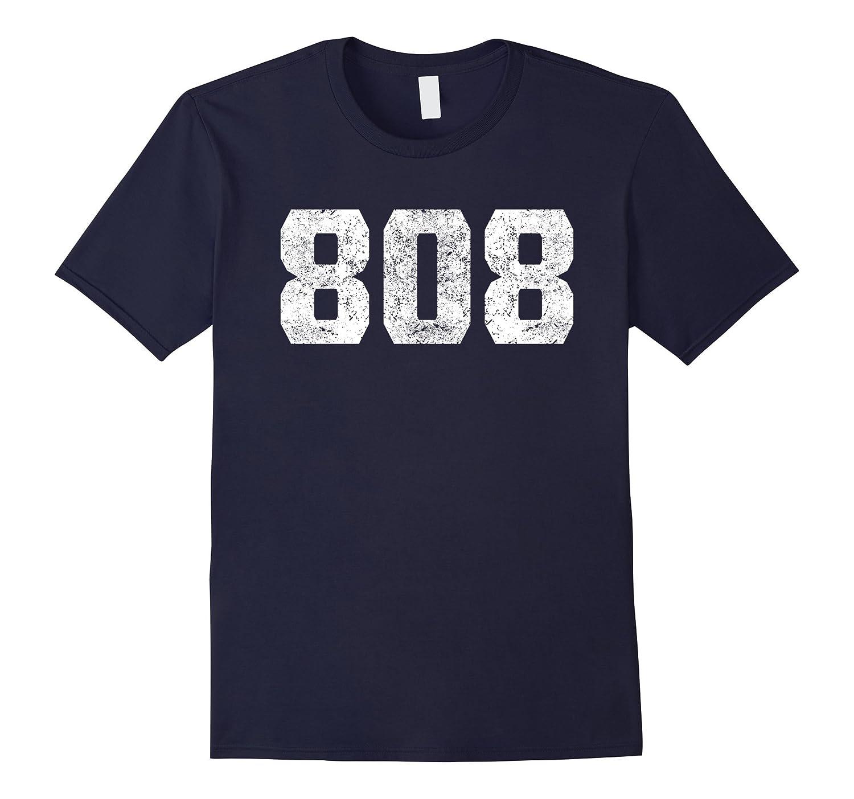 808 Area Code Honolulu HI Graphic T-Shirt-TH