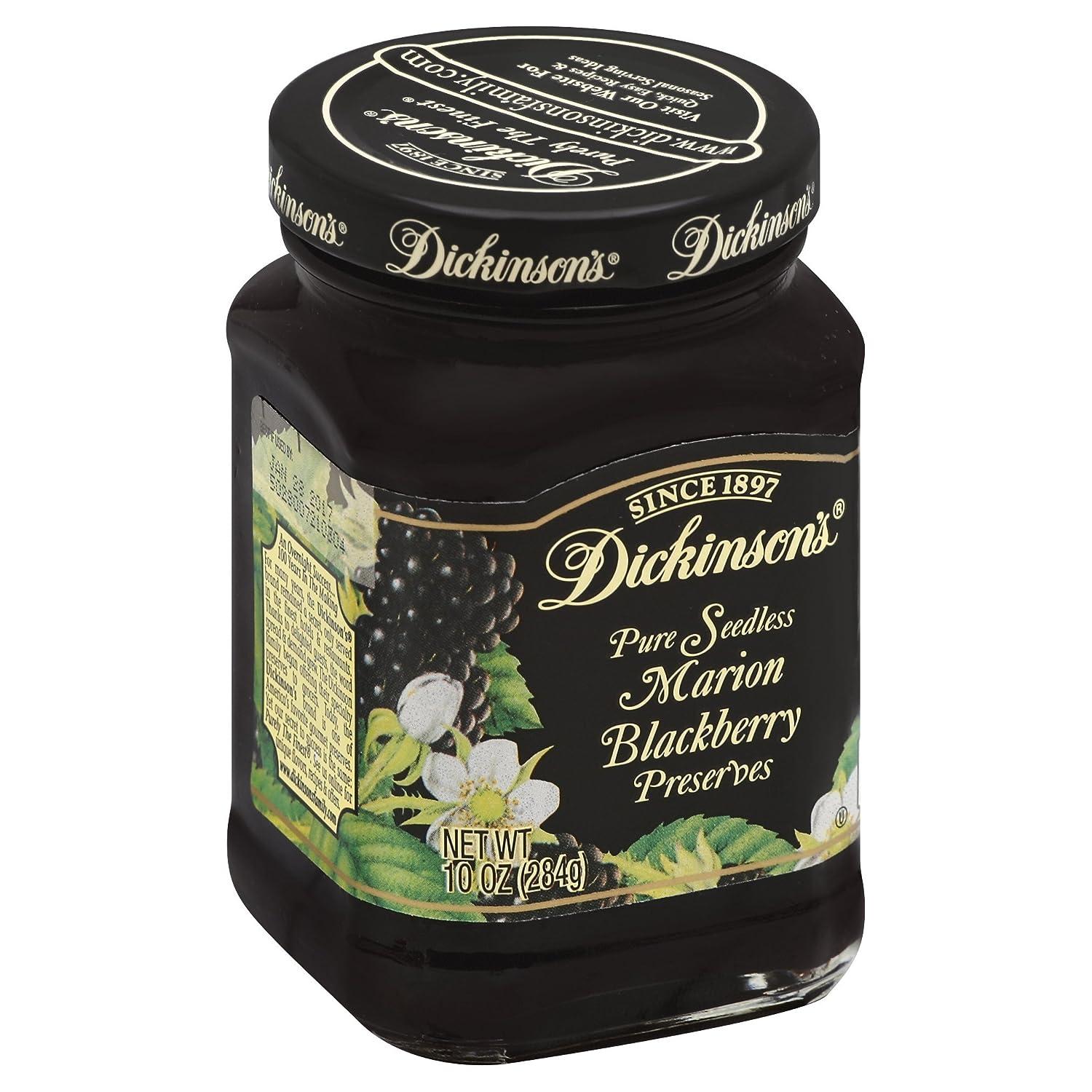 Dickinson's Seedless Blackberry Preserves, 10 oz