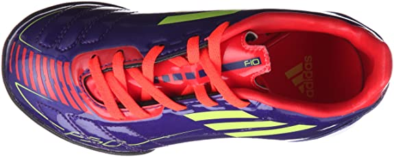 new concept 64a52 3c5a5 Adidas F10 TRX TF J G40280 Fußballschuhe lilaorangeneon, SchuhgrößeEUR  38.5 Amazon.de Schuhe  Handtaschen