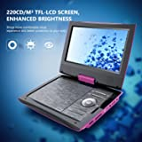 """SUNPIN 11"""" Portable DVD Player for Car and Kids"""