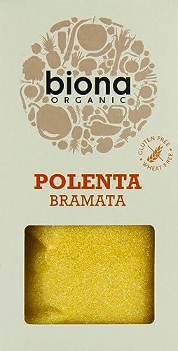 Biona Organic Polenta Bramata 500g (Pack of 6)