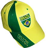 Casquette BRESIL - Collection supporter Football - BRASIL - Taille réglable adulte et ado