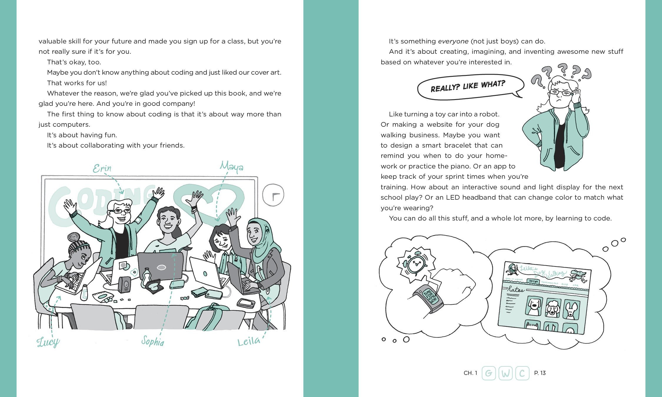 Girls Who Code: Learn to Code and Change the World by Viking Books for Young Readers (Image #2)