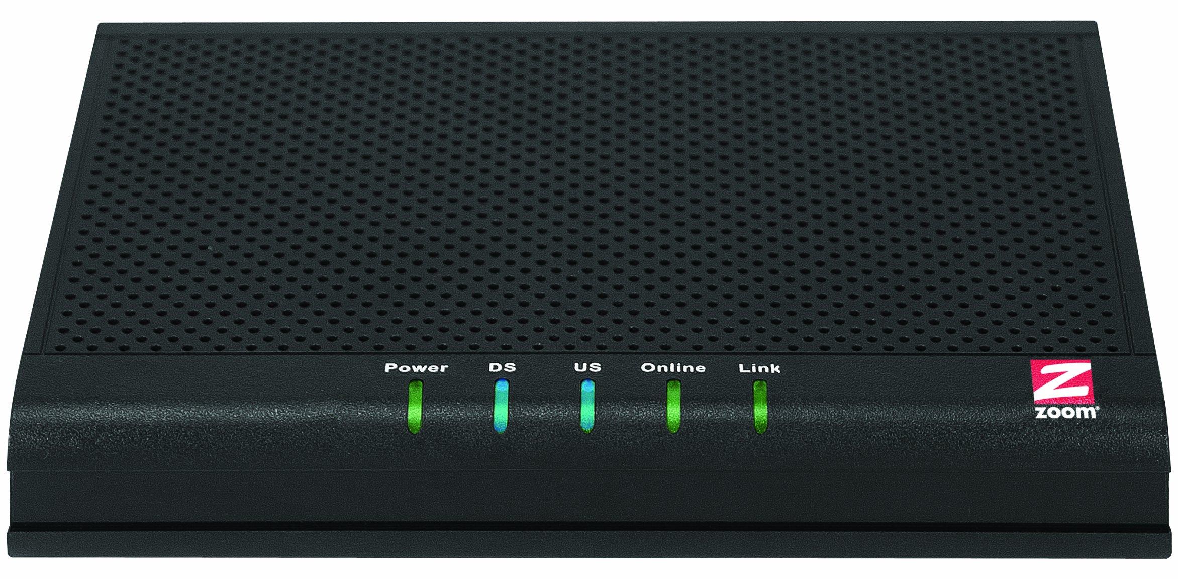 ZOOM TELEPHONICS DOCSIS 3.0 5341-00-00J 343Mbps Cable Modem