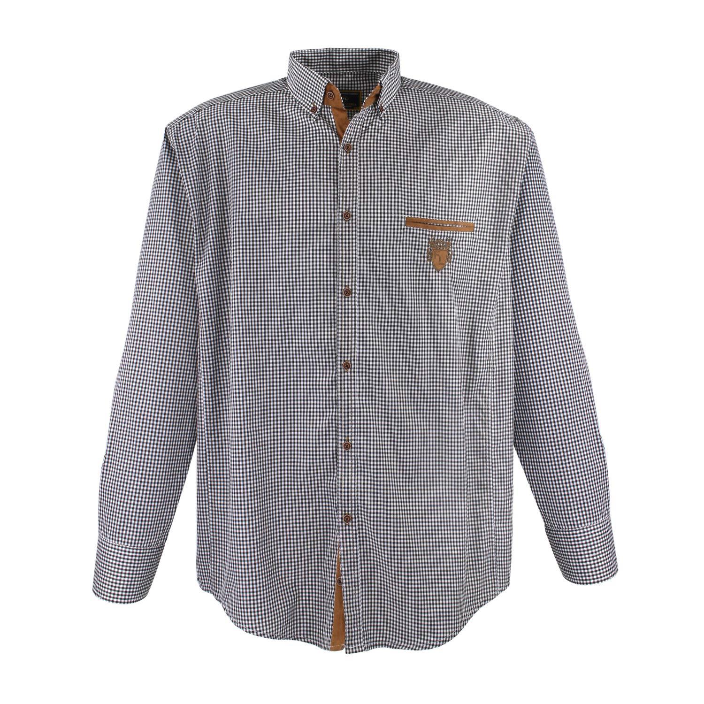 Lavecchia Mens Shirt Black And White Big Sizes
