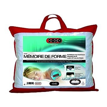 DODO Oreiller Mémoire de Forme 40x60cm: Amazon.co.uk: Kitchen & Home