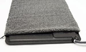 "K&H PET PRODUCTS Extreme Weather Kitty Pad Deluxe Cover Gray 12.5"" x 18.5"""