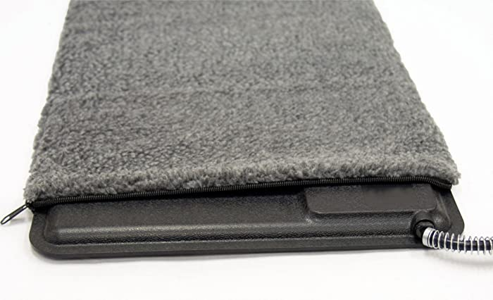 """K&H PET PRODUCTS Extreme Weather Kitty Pad Deluxe Cover Gray 12.5"""" x 18.5"""""""