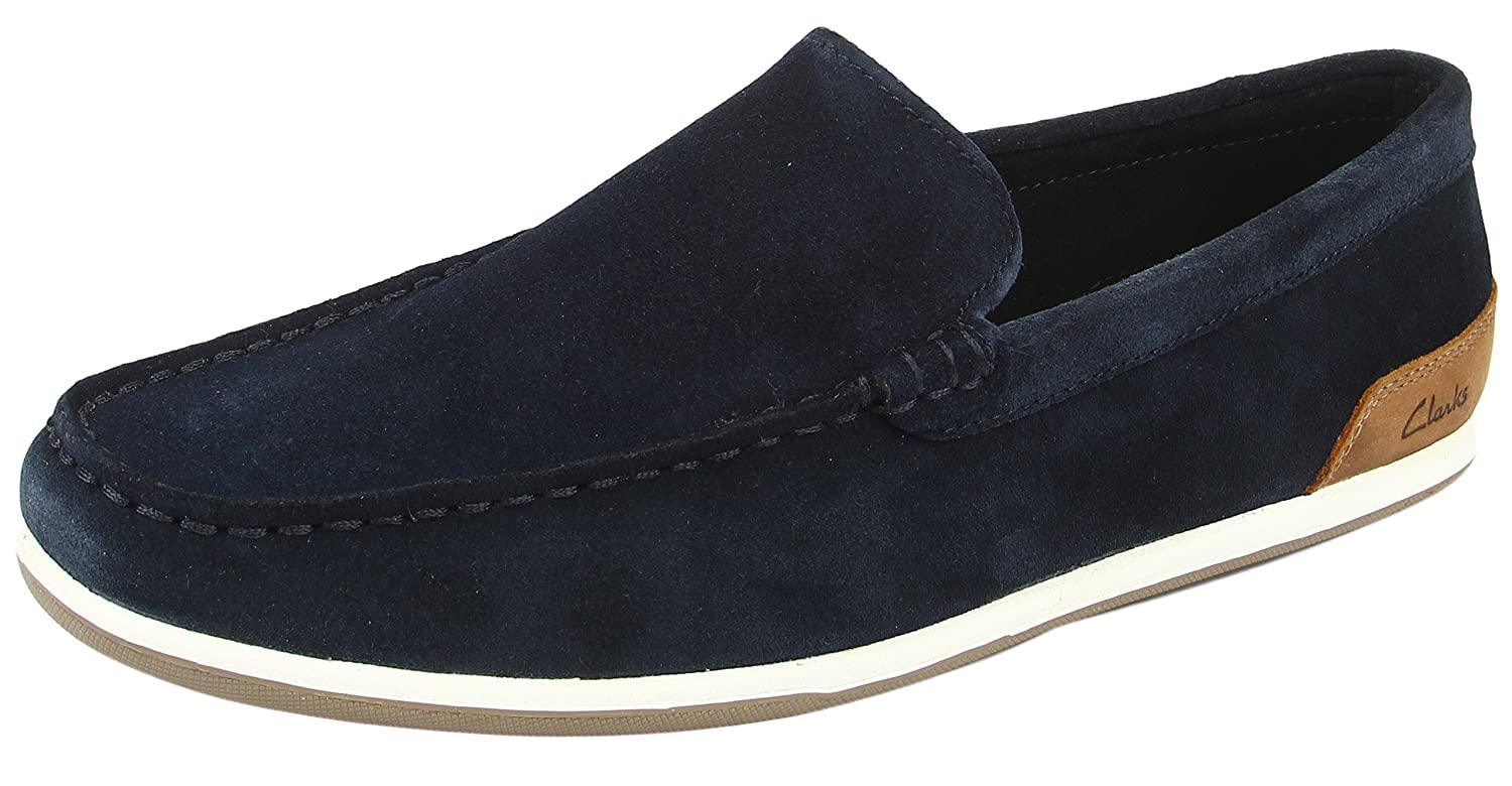 f4887768a3d2e Clarks Men's Medly Sun Navy Loafers and Mocassins - 10 UK: Buy Online at  Low Prices in India - Amazon.in