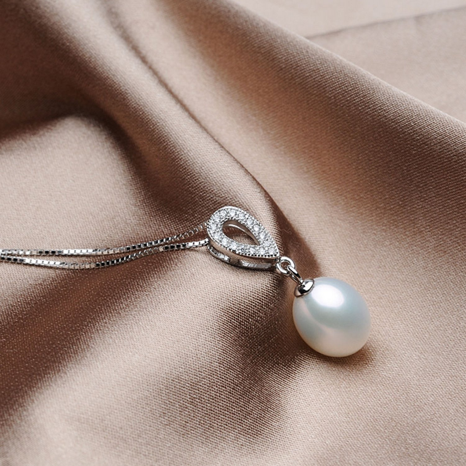 MMC Pearl Trendy Style Jewelry Silver Pendants Necklaces