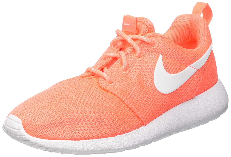 Nike Wmns Roshe One, Zapatillas de Deporte para Mujer 37.5 EU|Naranja (Bright Mango / White)