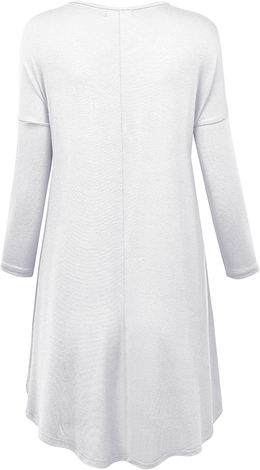 Made in USA MBJ Womens Oversized High Low Tunic