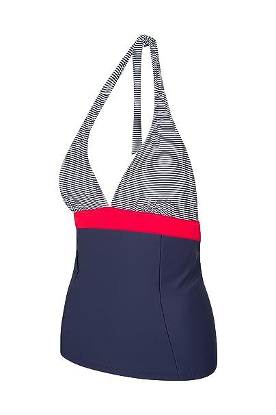 f36fd6bc45b69 Mountain Warehouse Ocean Notion Womens Tankini - Halter Neck Swimsuit at  Amazon Women's Clothing store: