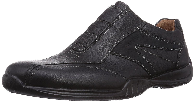 Jomos Forum - Zapatillas de casa de cuero hombre 47 EU|Negro - Negro