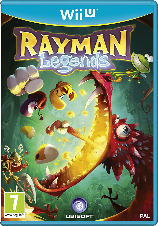 Ubisoft Rayman Legends, Wii U - Juego (Wii U): Amazon.es: Videojuegos