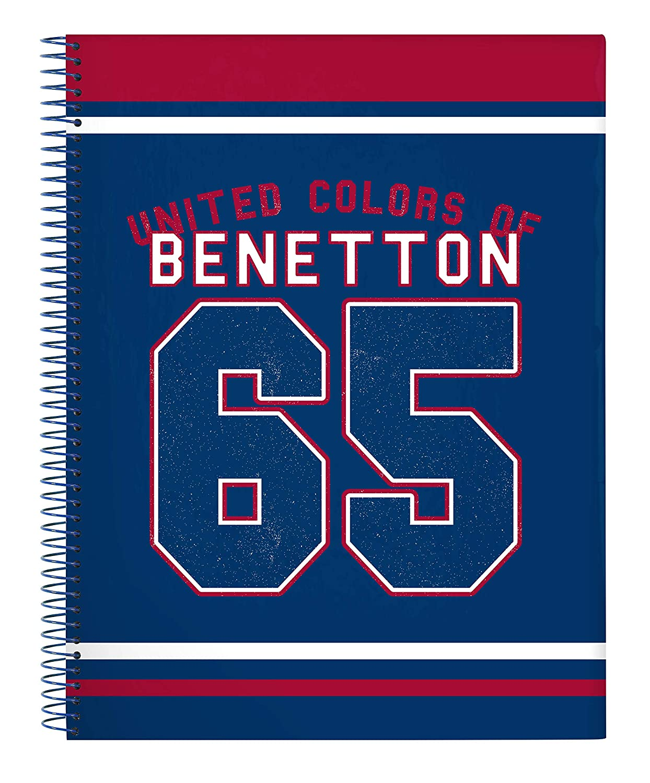 Benetton UCB Boy Official Notizbuch Hardcover 215 x 310 mm 120 Blatt