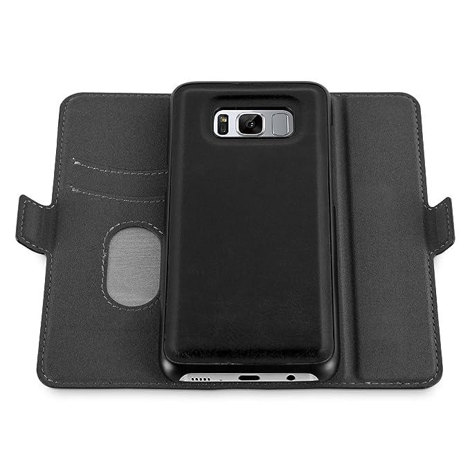 2 opinioni per Cover Galaxy S8, JAMMYLIZARD Custodia 2 IN 1 MAGNETICA DIVISIBILE Portafogli e