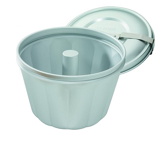 Dr. Oetker 2531 - Molde para cocinar al baño maría (2,5 litros): Amazon.es: Hogar