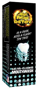 High Voltage Saliva Cleanser Mouthwash Mouth Body Detox Cleaner
