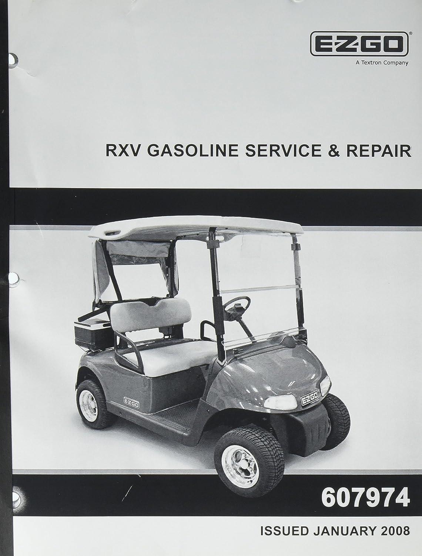 Amazon.com : EZGO 607974 2008 Current Repair/Service Manual for Gas RXV :  Outdoor Decorative Fences : Garden & Outdoor