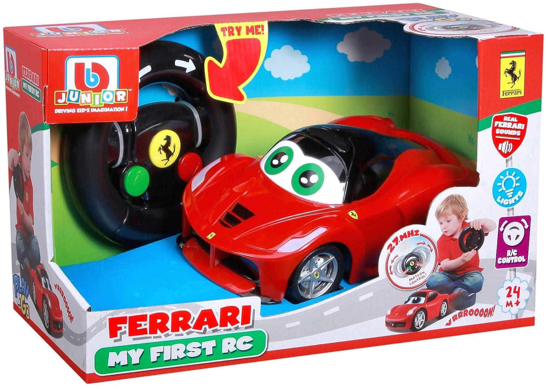 91002 Ma 1ere La Ferrari radiocommand/ée V/éhicule b/éb/é RC Bburago Maisto France