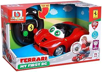 d3d9bbce020f7e Bburago Maisto France - 91002 - Véhicule bébé RC - Ma 1ere La Ferrari  radiocommandée