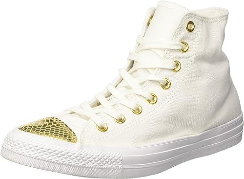 Converse Damen All Star Metallic Toecap Sneakers