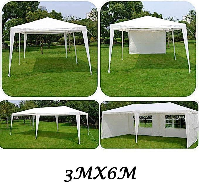 SiKy - Toldo Impermeable para Fiestas (6 x 3 x 2, 5 m, con 6 ...