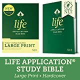 Tyndale NLT Life Application Study Bible, Third Edition, Large Print (Hardcover, Red Letter) – New Living Translation…