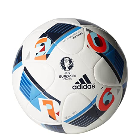 30a02fd0f7 Amazon.com   adidas Euro 16 Top Glider Soccer Ball   Sports   Outdoors
