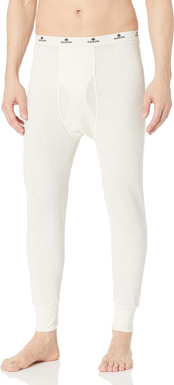 Indera Men's Traditional Long Johns Thermal Underwear Pant