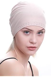 Deresina Cotton Bamboo Bonnet Essentiel avec Le Bijou Avant pour la Perte  de Cheveux, la f6499fc57c2