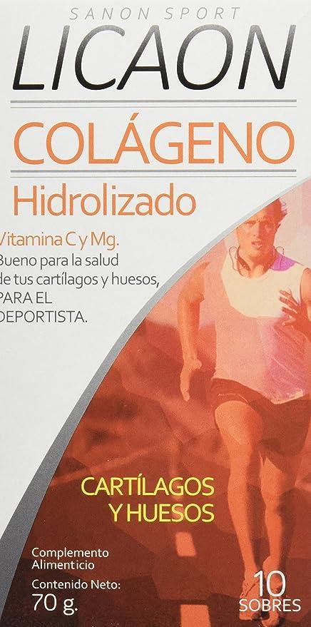 Sanon Sport Licaon Colágeno Hidrolizado - 2 Paquetes de 10 Unidades