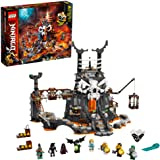 LEGO NINJAGO Skull Sorcerer's Dungeons 71722 Dungeon Playset Building Toy for Kids Featuring Buildable Figures, New 2020 (1,1