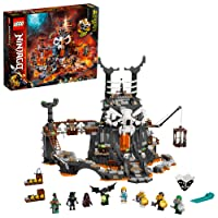 LEGO NINJAGO Skull Sorcerer's Dungeons 71722 Dungeon Playset Building Toy for Kids Featuring Buildable Figures, New 2020 (1,171 Pieces)