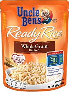 UNCLE BEN'S Ready Rice: Whole Grain Brown (12pk)
