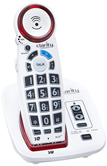 Amazoncom Clarity Dect 6 Amplified Cordless Big Button