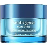 Neutrogena Hydro Boost Purified Hyaluronic Acid Pressed Night Serum, Facial Serum with Antioxidants & Hyaluronic Acid…