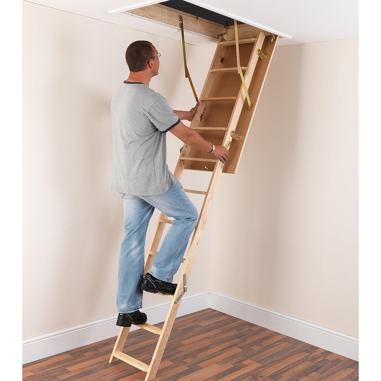 Tb Davies Eurofold Wooden Loft Ladders Inc 12mm
