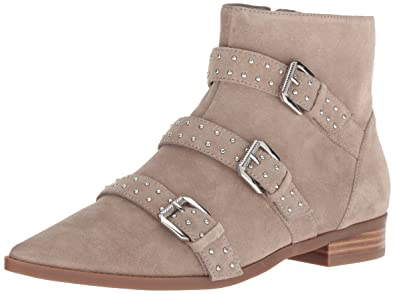 da88743bc94c Nine West Women s Seraphim Suede Ankle Boot Taupe 5 M US