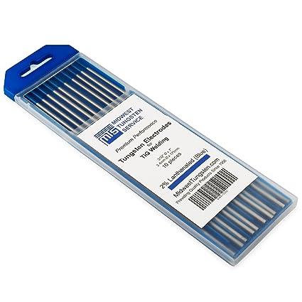 Amazon.com: Electrodos de tungsteno para soldadura TIG, con ...