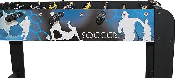 Tentable Happy-Goal 1-50-0160-12 - Futbolín, 96 x 50 x 73 cm: Amazon.es: Juguetes y juegos