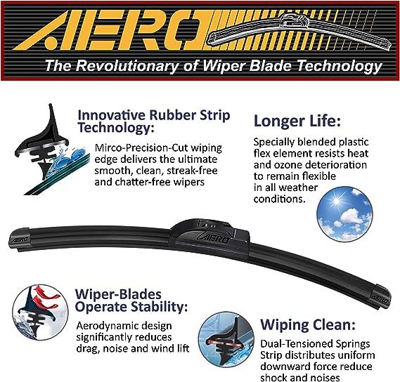OLIJEEN All-Season Windshield Wiper Blades OEM quality Wiper Blade 22