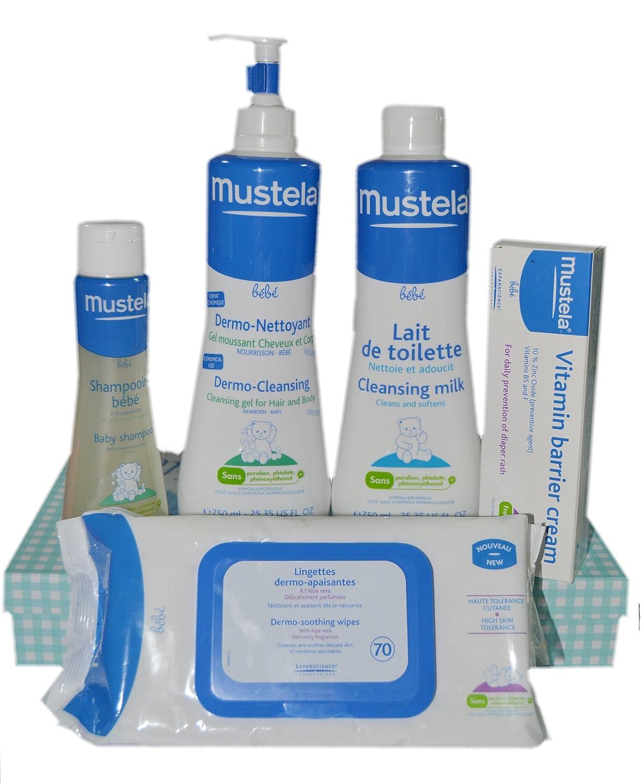 Pack Mustela 5 uds 750ml: Amazon.es: Bebé