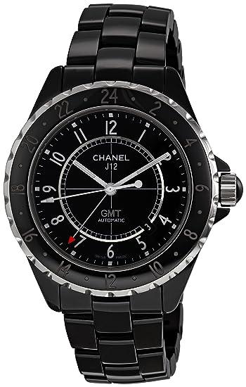 Chanel H2012 - Reloj de Pulsera Hombre, Cerámica, Color Negro