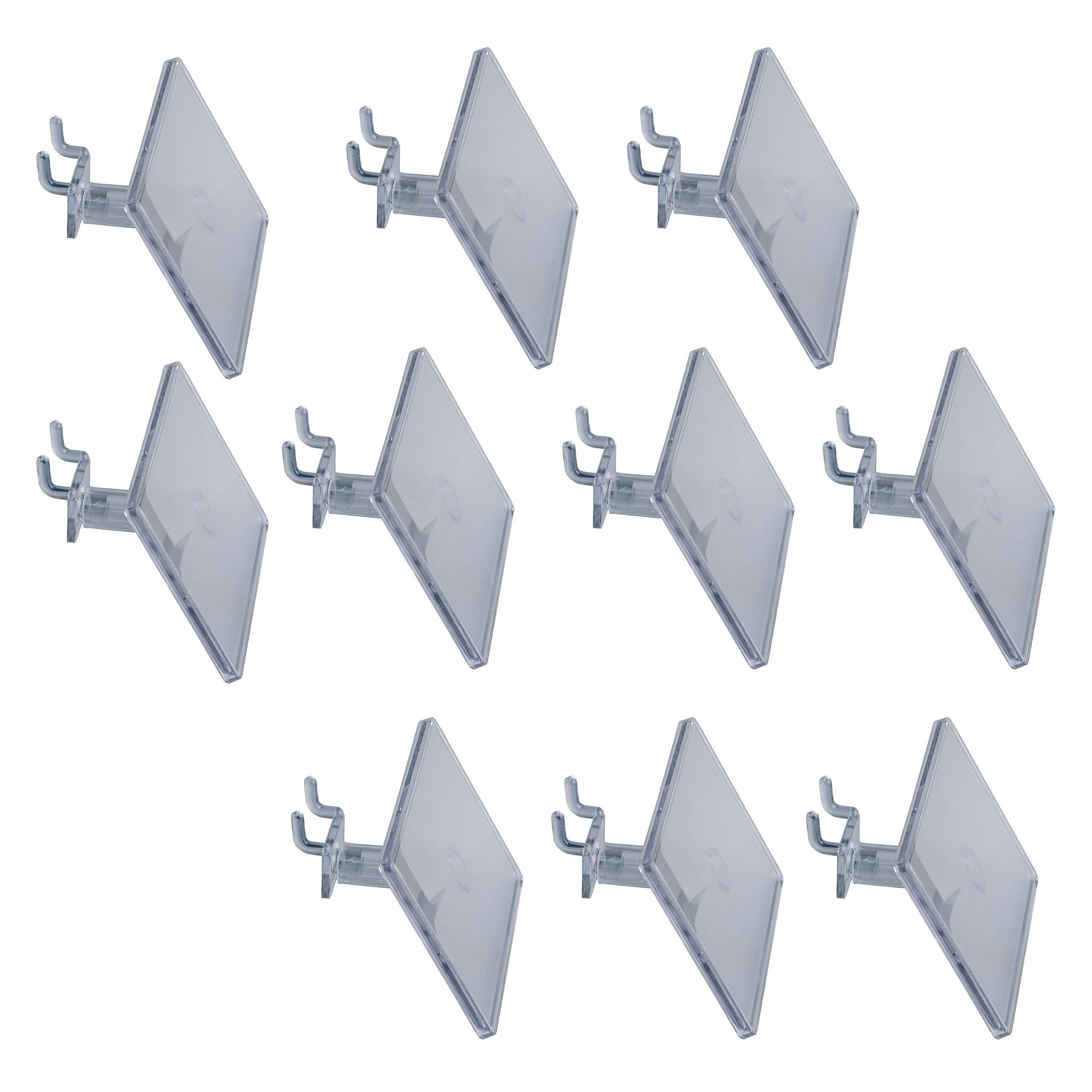 Hold Up Displays - 10 Pack Slatwall Information Holder