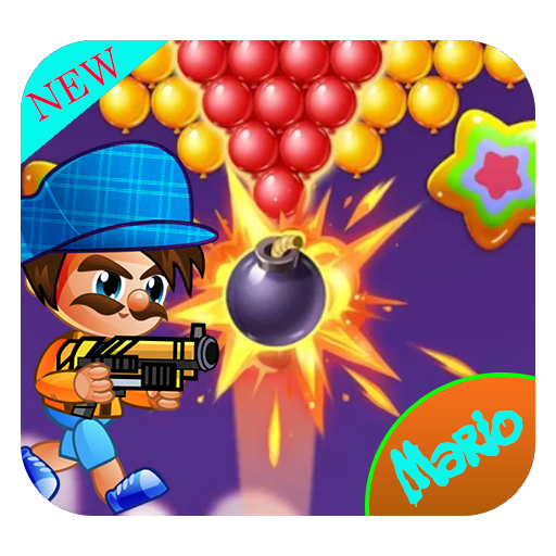 Mario Bubble Shooter Adventure: New shooter game 2019 (Best Bubble Shooter Game 2019)